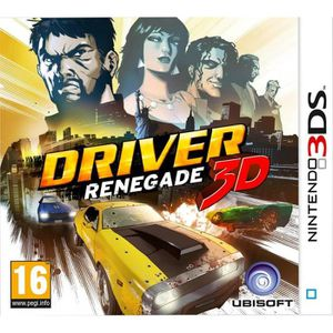 JEU 3DS Driver Renegade (Nintendo 3DS) [Unknown format] [N