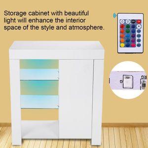ARMOIRE DE CHAMBRE Cabinet moderne avec télécommande pour placard de