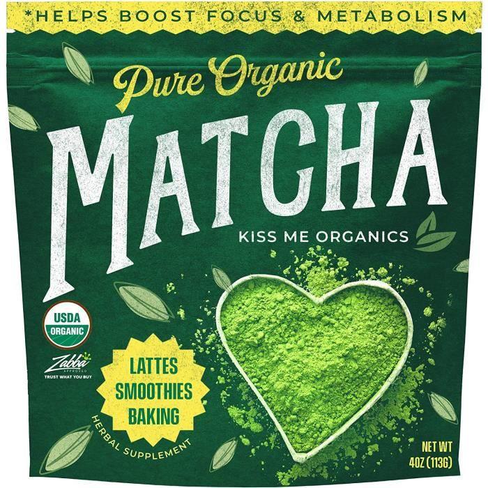 Poudre de Thé Vert Matcha – Qualité Culinaire Bio du Japon - Antioxydant Puissant – 113 grammes - Augmente l'Énergie et la Concentra