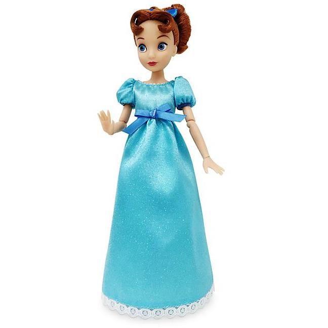 Poupée classique officielle Disney Peter Pan 33 cm Wendy