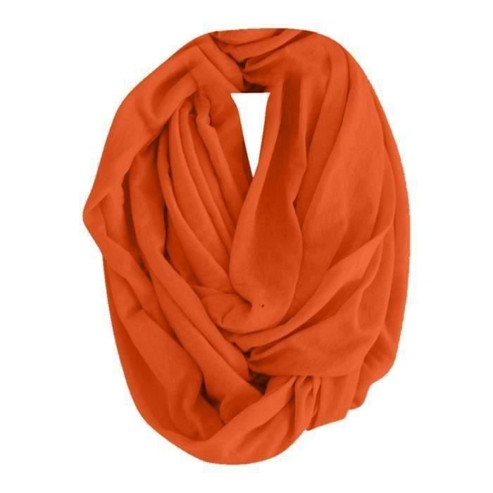 Couleur bonbon col foulard orange HB308B