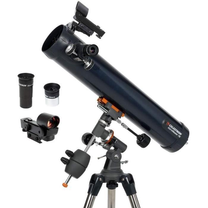 Télescopes-31035 AstroMaster 76EQ Télescope réflecteur[107]