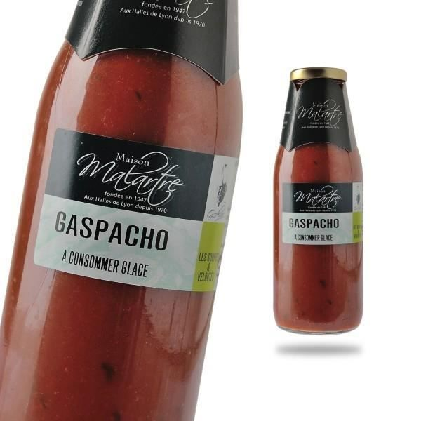 Gaspacho soupe froide , Bouteille 500ml