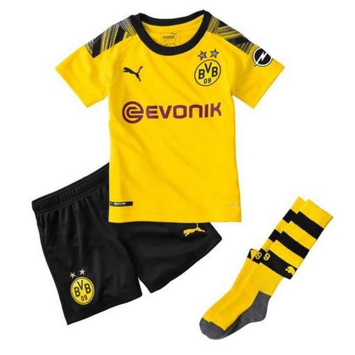 Mini-Kit Officiel Enfant Puma Borussia Dortmund Saison 2019-2020