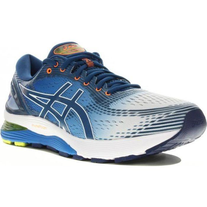 ASICS Chaussures de running Gel-Nimbus 21 Shine - Homme - Bleu