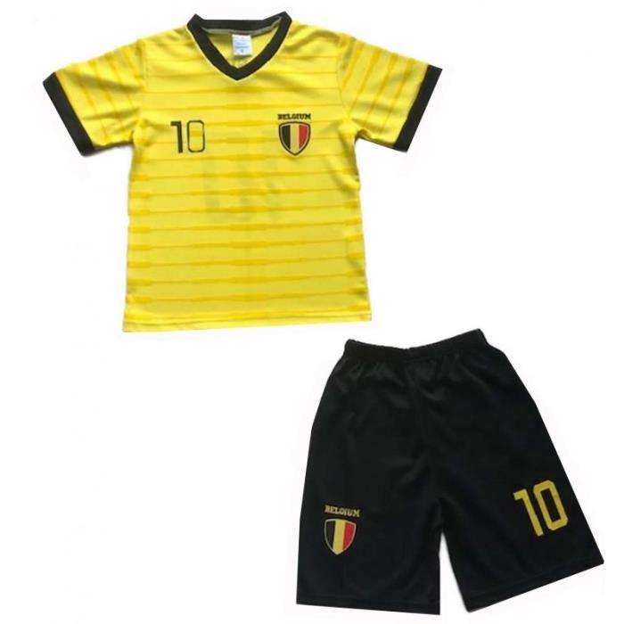jaune Ensemble de foot maillot et s