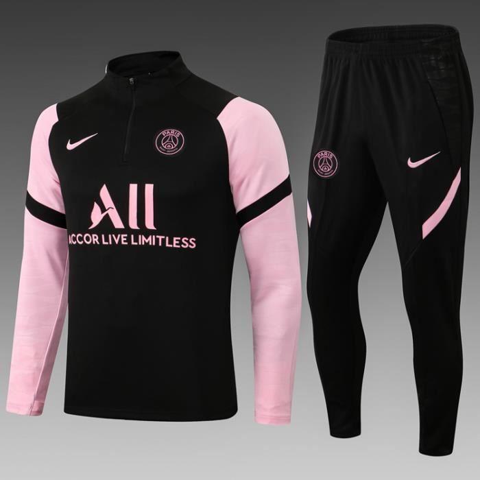 Survêtement de Foot Homme 2021 2022 Nouveau Maillot de Football Pas Cher Survet Kit