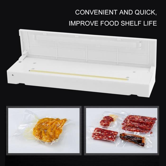 Machine Sous Vide Automatique Appareil de Scellage pour Aliments,Viandes,Légumes, Fruits