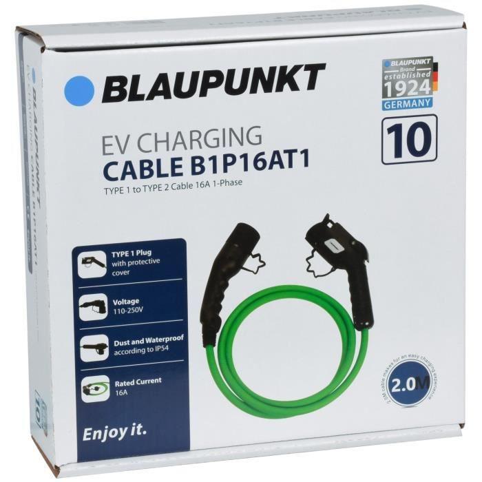 CABLE CHARGE VEHICULE ELECTRIQUE T1->T2 B1P16AT1 N°10 BLAUPUNKT