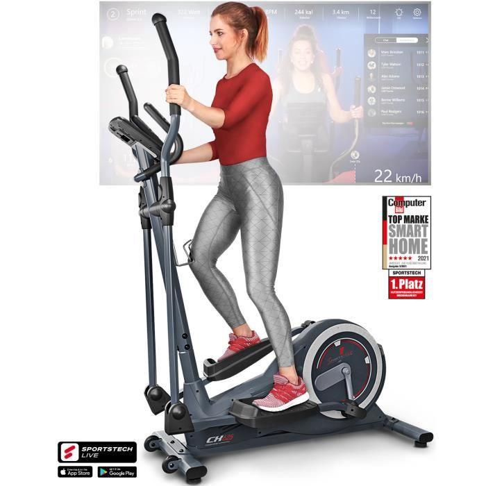 Vélo elliptique ergomètre CX625 inertie 24 kg intérieur bluetooth application fitness magnétique 16 résistances cardio 22 programmes
