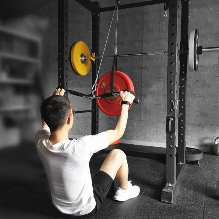 Remplacement de Câble de Tirage LAT de Haute Résistance à La Maison Gym Biceps Rouleau Triceps Câbles Poulie Câble Machine