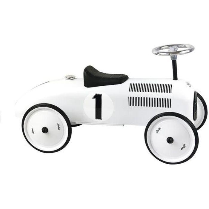Vilac - Porteur voiture en métal blanc polaire - VILAC
