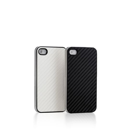 WE Coque de protection iPhone 4 - Carbone Blanc