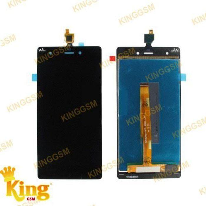 ECRAN LCD + VITRE TACTILE pour WIKO PULP 4G + Tournevis