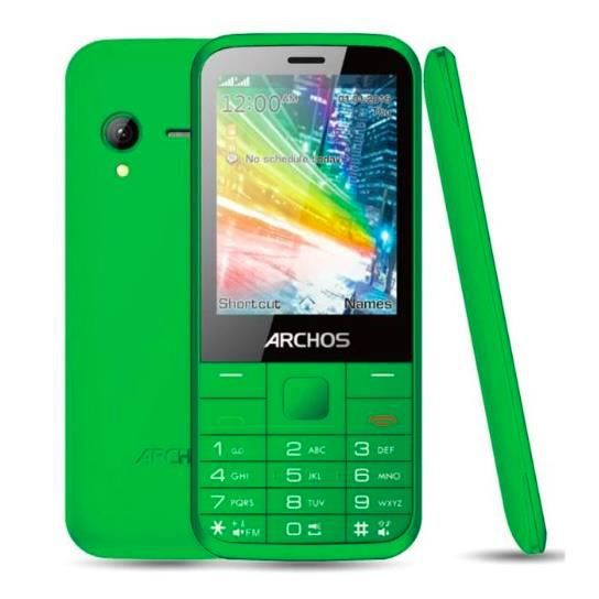 telephone portable archos f28 vert achat t l phone. Black Bedroom Furniture Sets. Home Design Ideas