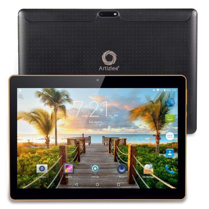 "TABLETTE TACTILE Tablette 3G 16Go 10"" - Artizlee® Tablette tactile"