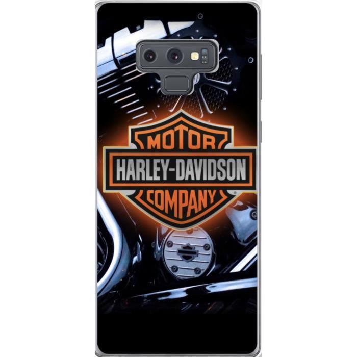 Coque Samsung Galaxy Note 9 Harley Davidson - Achat coque - bumper ...