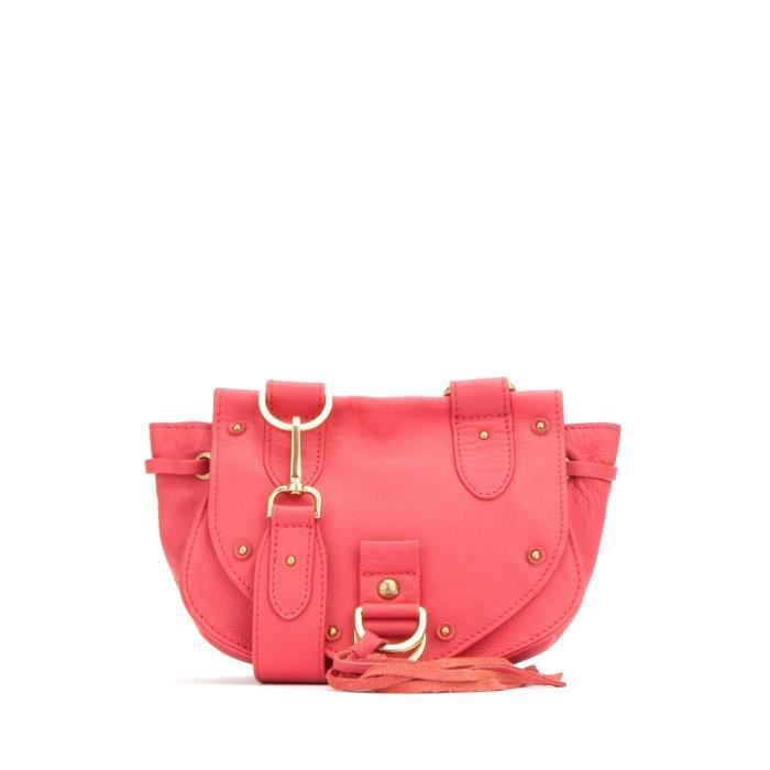 Voir By Chloe Mini Cross Body Collins Crossbody Sacs à main Flamingo Rose QYPOP