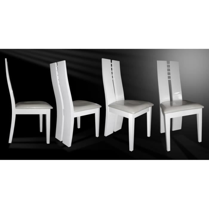 chaise blanche laquee maison design. Black Bedroom Furniture Sets. Home Design Ideas