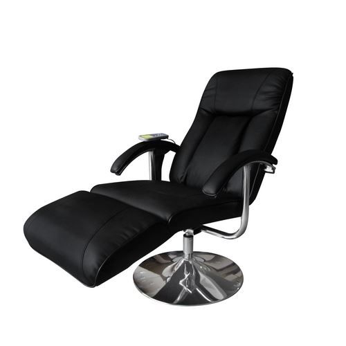 Fauteuil relaxation massage relaxant massant noir achat vente fauteuil - Fauteuil relaxant massant ...