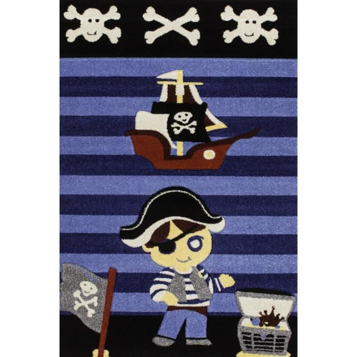 tapis de chambre pour gar on bleu pirate achat vente. Black Bedroom Furniture Sets. Home Design Ideas