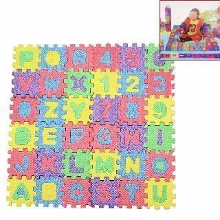 1 set tapis jeu puzzle mousse alphabets chiffres jouet jeu ducatif enfants achat vente. Black Bedroom Furniture Sets. Home Design Ideas