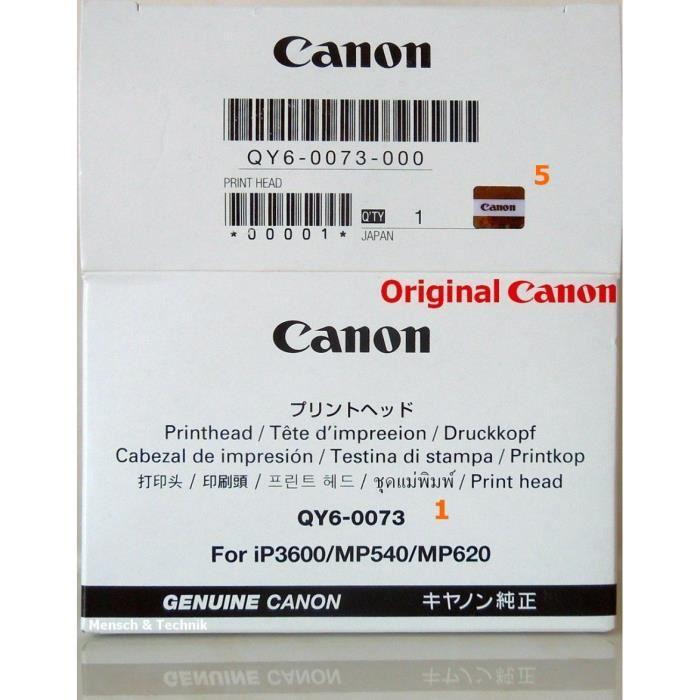 T/ête dimpression dorigine pour Canon Pixma iP8750 MG7750