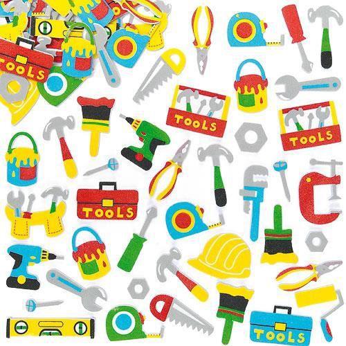 Loisirs cr/éatifs pour Enfants Baker Ross Autocollants h/érissons en Mousse Lot de 120