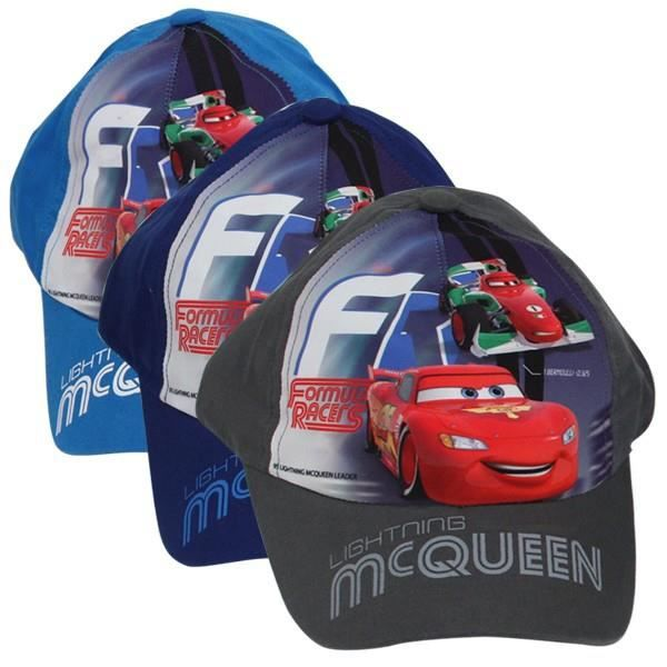 casquette cars lightning mcqueen bleu achat vente. Black Bedroom Furniture Sets. Home Design Ideas