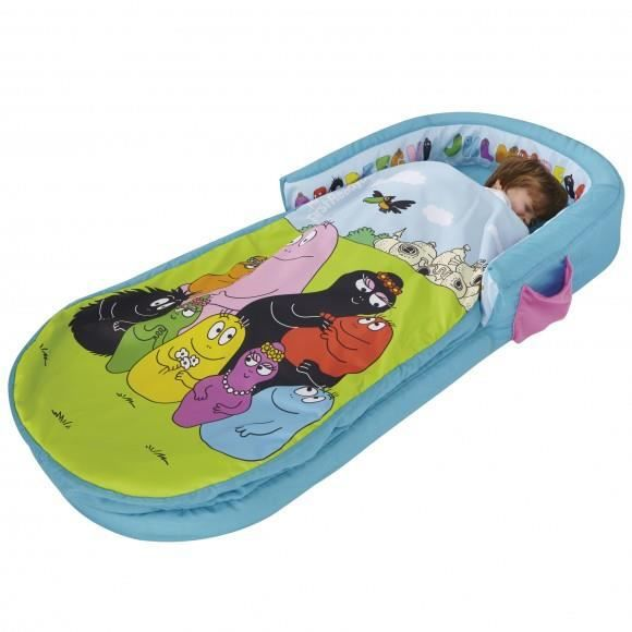 matelas gonflable enfant 18 mois 3 ans barbapapa achat. Black Bedroom Furniture Sets. Home Design Ideas