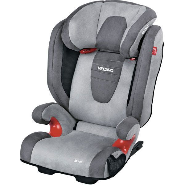 recaro si ge auto monza seatfix gr2 3 asphalt grey achat vente si ge auto r hausseur si ge. Black Bedroom Furniture Sets. Home Design Ideas