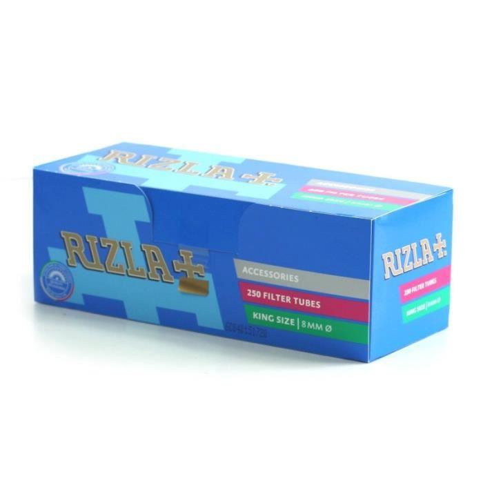 TUBE À CIGARETTE Boite 250 tubes RIZLA