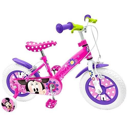 """VÉLO ENFANT MINNIE Vélo 12""""- Nylon - Pneus Gonflables"""