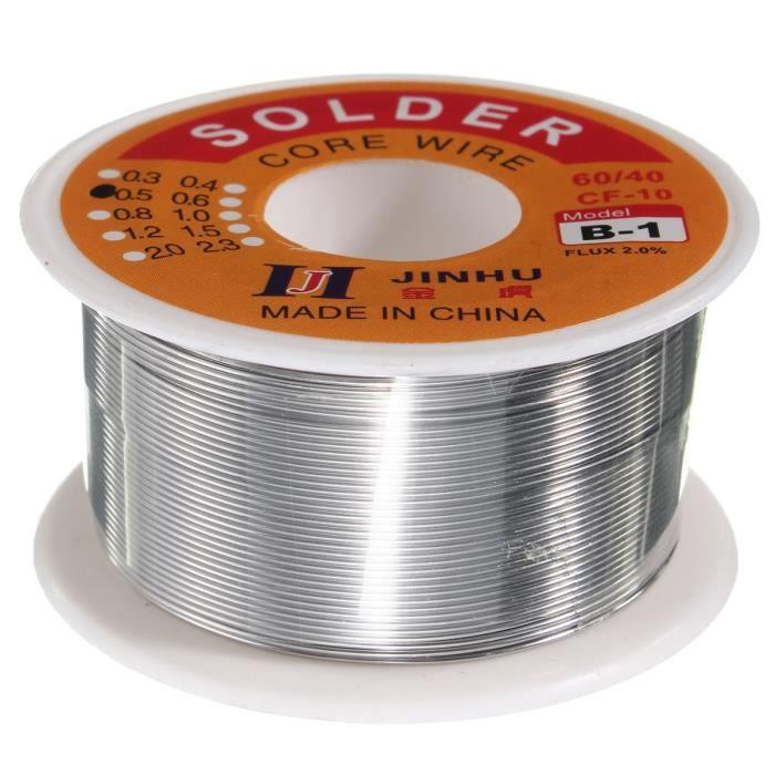 Étain 5 m fil Etain 0,3mm de soudure pour électronique  60/% étain 40/% plomb