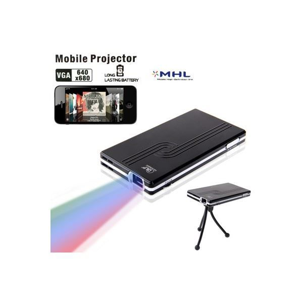 mini projecteur portable led avec 1800mah. Black Bedroom Furniture Sets. Home Design Ideas
