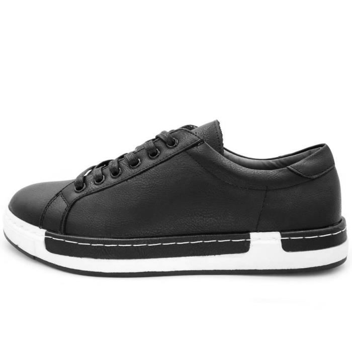 Fashon Chaussures de sport, mode Low Top Flats Lace Up Oxfords Casual Shoes VP1BH Taille-43