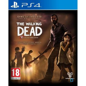 JEU PS4 The Walking Dead Saison 1 GOTY Jeu PS4