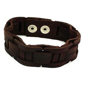 bracelet femme cuir large