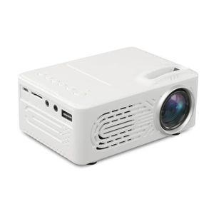 Vidéoprojecteur 700 Lumens 1080P Full HD Mini Projecteur LED Home