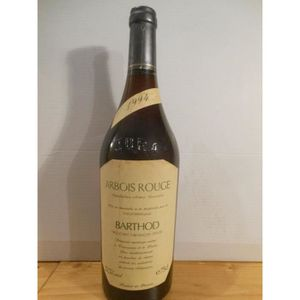 VIN ROUGE arbois Barthod Trousseau-pinot rouge 1994 - jura f
