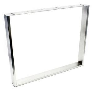 PIED DE TABLE Armature de table 90x73 cm Acier inoxydable Pied d
