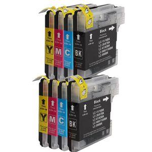 CARTOUCHE IMPRIMANTE Pack de 8 Brother LC-980 Cartouches compatible pou