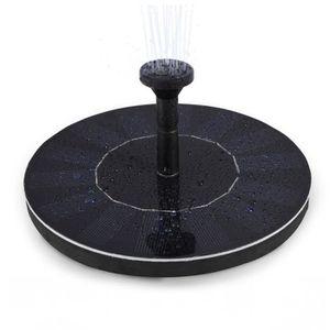 FONTAINE DE JARDIN LEDGLE Pompe à eau flottante solaire de 1.4W Mini