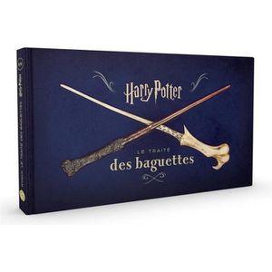 LIVRE SCULPTURE Livre - Harry Potter ; le traité des baguettes