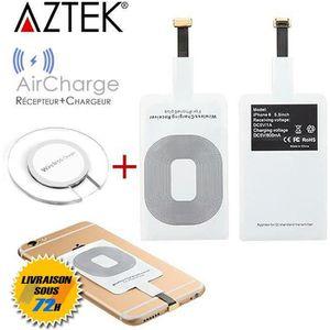 CHARGEUR TÉLÉPHONE AZTEK®  AirCharge Récepteur Chargeur sans fil de Q
