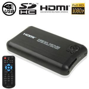 BOX MULTIMEDIA MédiaPlayer 1080P Full HD +support Hdmi/Sd/Usb/HDD