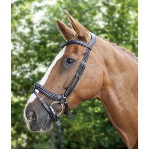 Noir Brun livraison gratuite Waldhausen X Line en Cuir//web rênes Pony entier