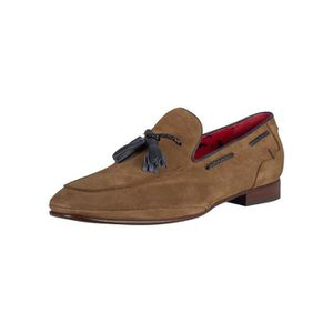 MOCASSIN Jeffery West Homme Mocassins Ibiza En Daim, Bleu