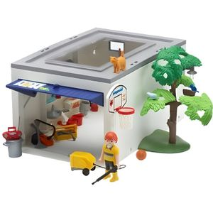 playmobil garage de la maison achat vente univers miniature cdiscount. Black Bedroom Furniture Sets. Home Design Ideas