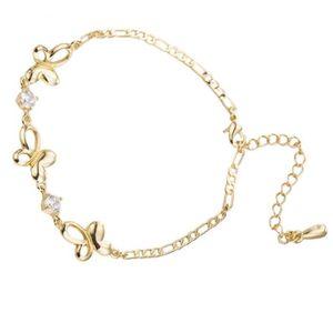 CHAINE DE CHEVILLE Bracelet de Cheville Cheville de Papillon Décorati
